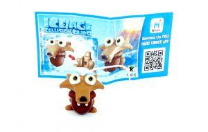 Scrat mit Eichel von Ice Age 5 - Kollision voraus mit Beipackzettel