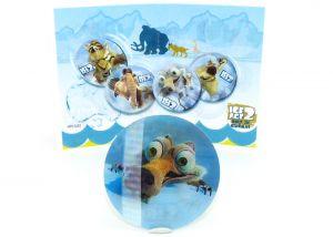 Wackelbild von Scrat mit Beipackzettel (ICE AGE 2)