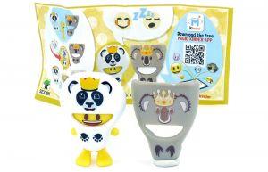 EmoJoy Doubleface Panda- Koala mit Beipackzettel (SE330K)