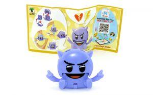 Emoji lila Teufel Clicker SE795 mit Beipackzettel (Kinderjoy Emojoy)