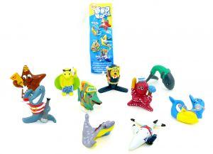 Sea - World Figurensatz mit Beipackzettel [Firma Langnese]