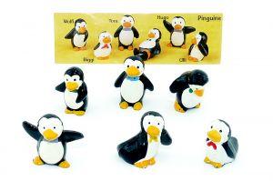 Pinguine mit Beipackzettel von der Firma Onken