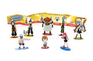 8 Shaman King Figuren mit BPZ von DOLCE PREZOSI