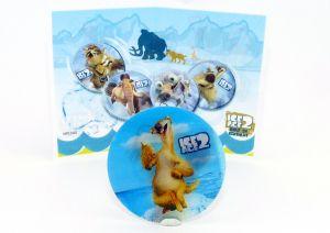 Cooles Wackelbild von Sid mit Beipackzettel (ICE AGE 2)