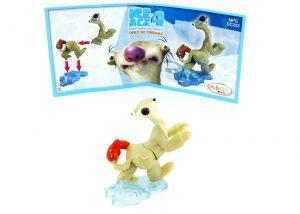 Sid aus der Serie Ice Age 4 mit Beipackzettel