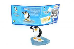 SKIPPER mit Beipackzettel von den Pinguins Madagascar