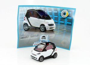 Weißer Smart Fortwo V0832 (Autos - Züge - Loks)