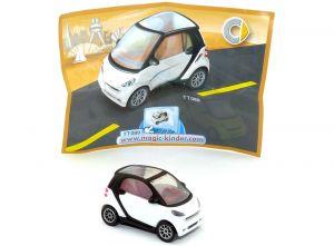 Smart fortwo in weiss von 2007 mit BPZ (Nr. TT089 Autos)