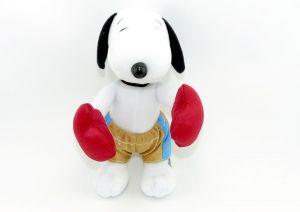 Snoopy als BOXER (Plüschfigur aus dem Maxi Ei)