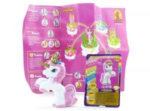 "Filly Unicorn Sonderfigur ""Iridia Prinzessin Sparkle"" Beipackzettel und Mini Karte"