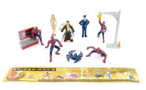 Figuren - Set von SPIDERMAN 2, Dolci Preziosi mit 1 Beipackzettel