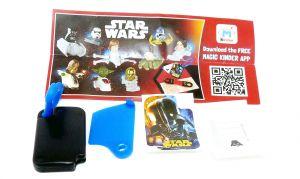 Schlüsselanhänger von Star Wars mit Beipackzettel (TT382B)