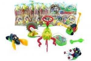 Spielzeugsatz der Gartengeräte von Mission Maulwurf