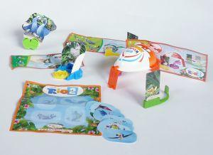 Spielzeug Satz von Rio 2 Dschungelfieber von 2014