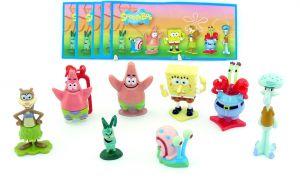 SpongeBob 2012 mit allen Beipackzetteln und Sonderfigur Patrick als Schlüsselanhänger