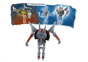 Starscream von den Transformers 2014 mit Beipackzettel