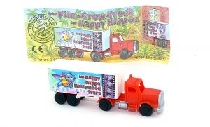 Truck der Serie Happy Hippo Hollywood STARS mit Beipackzettel und Super Hero Motiv