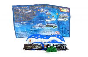 3D Puzzle Lokomotive von Polarexpress mit deutschem Beipackzettel