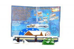 3D Puzzle Waggon von Polarexpress mit deutschem Beipackzettel