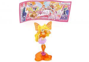 Stella von den WinX Club Figuren 2012 mit Beipackzettel