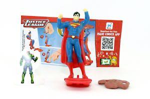 SUPERMAN von den Justice League mit Beipackzettel DV413