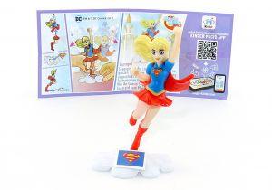 Supergirl mit Beipackzettel von den DC Super Hero Girls