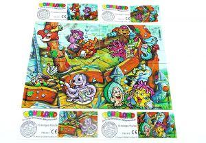 Aqualand Puzzle mit allen 4 Puzzleecken und Beipackzetteln (Superpuzzle 60 Teile)