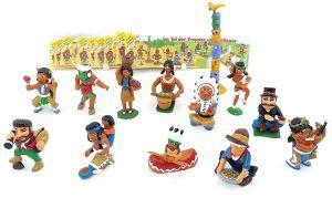 Im Tal der Trapper und Indianer Plus die den 13 Beipackzettel (Komplettsatz)
