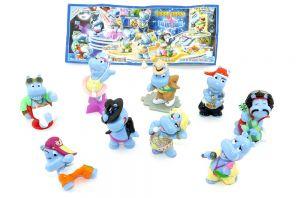 Die Happy Hippo Talent Show Figuren mit 1 BPZ (Sätze Deutschland)