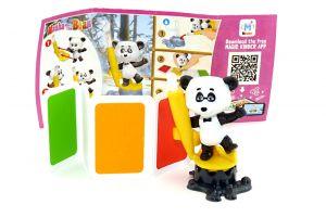 Panda von Masha und der Bär 6 mit Beipackzettel [EN534]