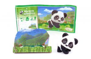 Baby Panda BärFigur von den NATOONS mit Beipackzettel [FT014]