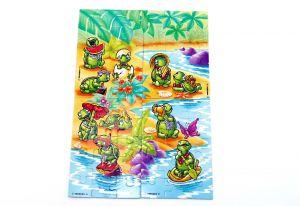 Superpuzzle der Teeny Tapsi Törtels (60 Teile)