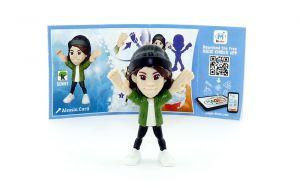 Alessia Cara mit Beipackzettel von den TEEN IDOLS (SD691)