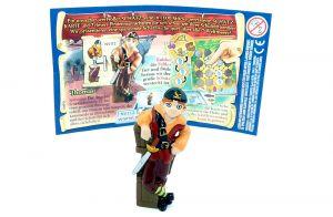 Thomas mit Schatzkarte und Beipackzettel (Monster & Piraten)