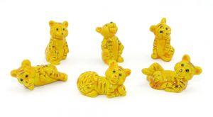 Tolle Tiger Figuren Set von der Firma Bofrost 1995