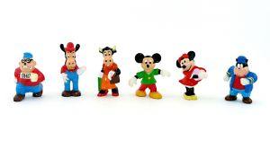 Goofy und seine Freunde Nr. 1. Topolino von 1992. 6 Figuren [Firma Nestle - Disney]