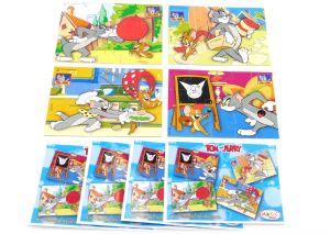 Superpuzzle von Tom & Jerry, alle 4 Ecken mit vier Beipackzetteln (Superpuzzle)