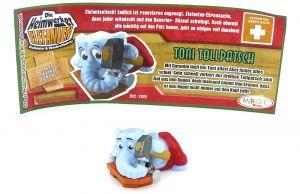 TONI TOLLPATSCH mit Beipackzettel (Die Heimwerker Elefanten)