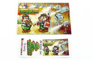 "Top Ten Teddies Puzzleecke ""oben rechts"" mit Beipackzettel"
