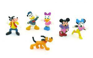 Goofy und seine Freunde Nr. 3. Topolino von 1994. 6 Figuren [Firma Nestle - Disney]