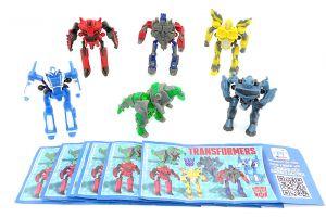 Transformers 2 Figurensatz. Alle 6 Figuren der Serie aus China mit Beipackzettel