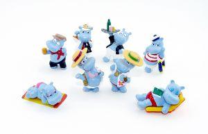 Satz Happy Hippos aus dem Merendero Ei von 2001