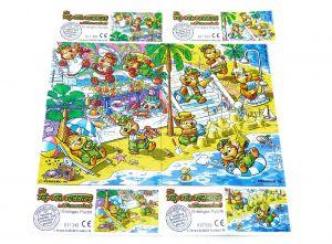 Alle 4 Puzzleecken vom Traumurlaub mit Beipackzettel (Superpuzzle)