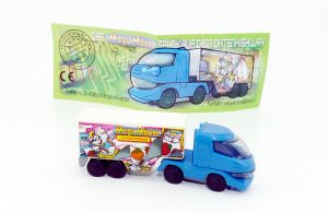 Truck der Mega Mäuse mit mit Beipackzettel (Mega Mäuse)