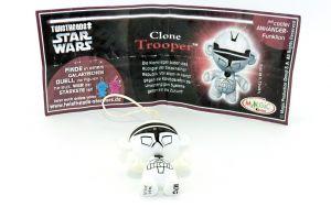 Clone Trooper mit schwarzer Kennung unter den Füßen (Variante)