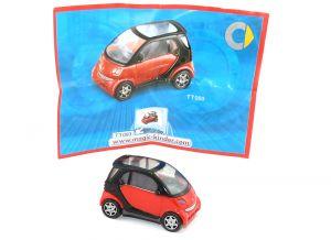 Smart Fortwo in rot aus der Kollektion von 2006 TT093