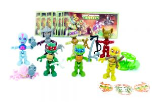 Teenage Mutant Ninja Turtles Mexico (Komplettsatz)
