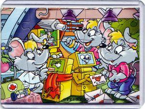 Mega Mäuse Puzzleecke unten rechts (Ü-Ei Puzzle)