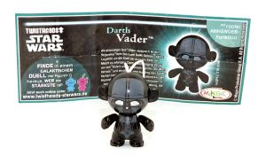 Darth Vader aus der Serie Star Wars - Twistheads mit Zettel