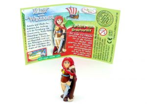 Verlobte von Grautvornix mit deutschen Beipackzettel (Asterix und die Wikinger)
